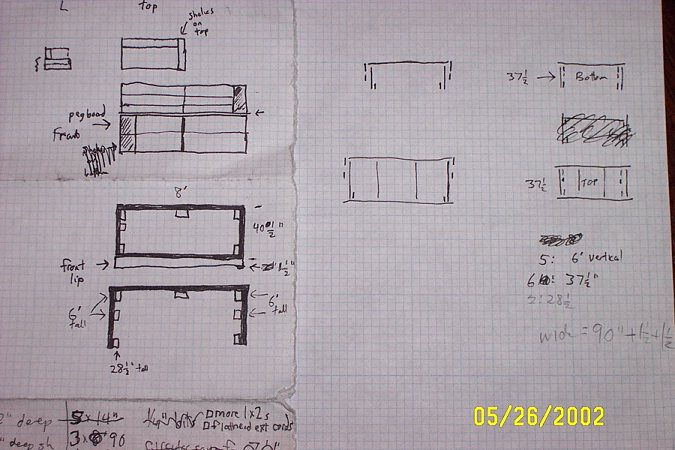table blueprints