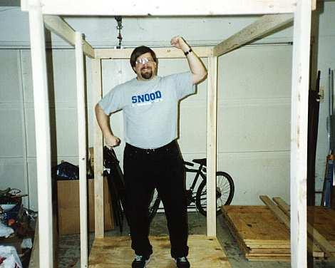 Free Garage Shelf Plans – Built-In-Utility Shelf, Shop Storage